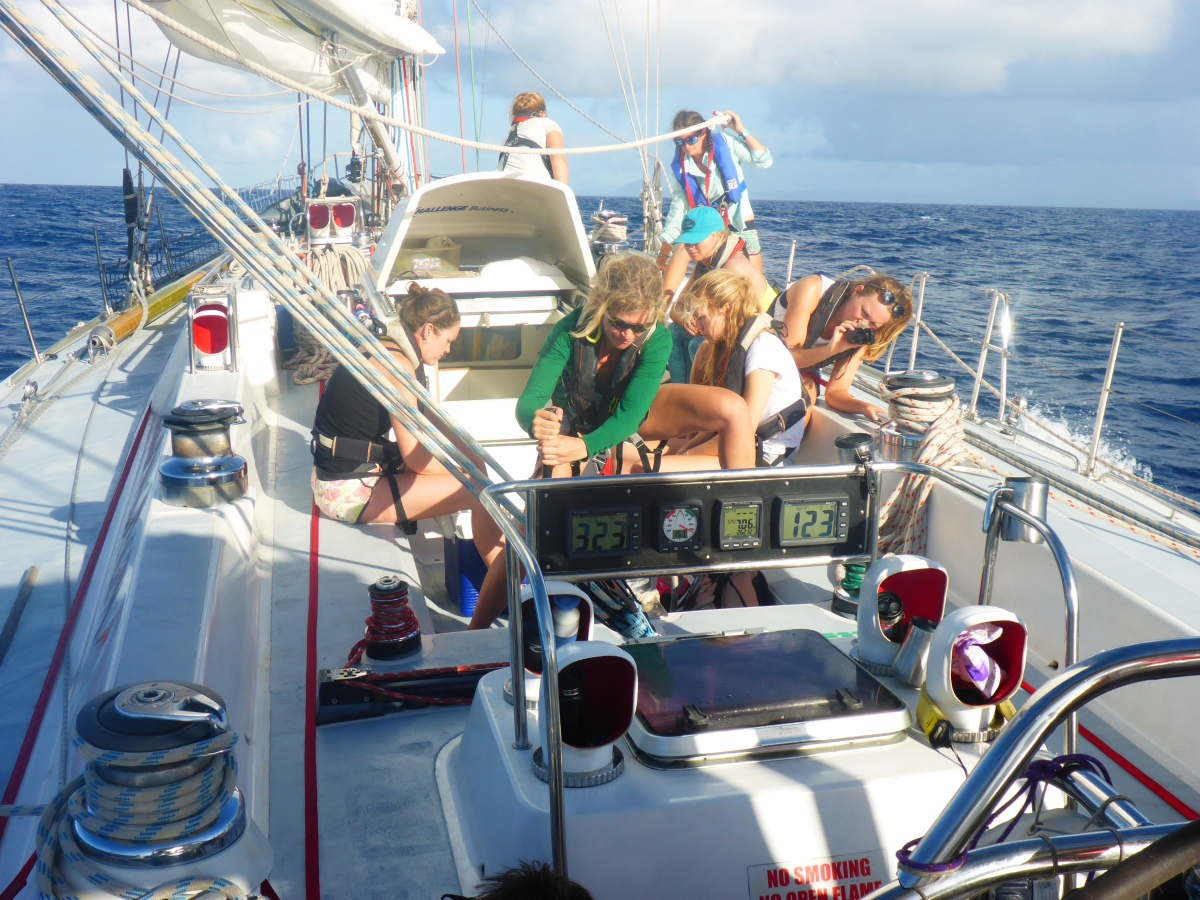 On a 72′ Sailboat, Searching for Ocean Plastics