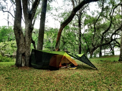 My sorry tent and tarp