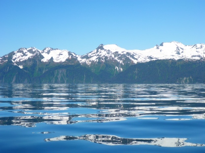 Reflections in Resurrection Bay