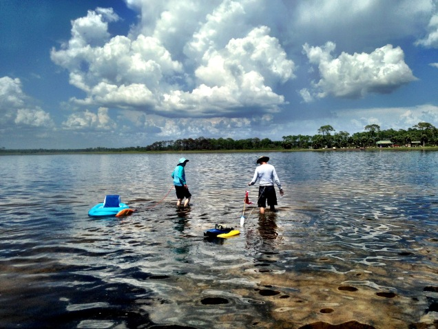 Scalloping at Hagens Cove
