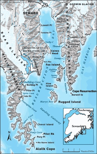 Resurrection Bay Map