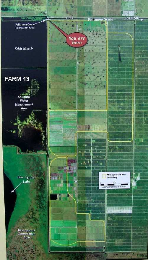 map of farm 13/stickmarsh