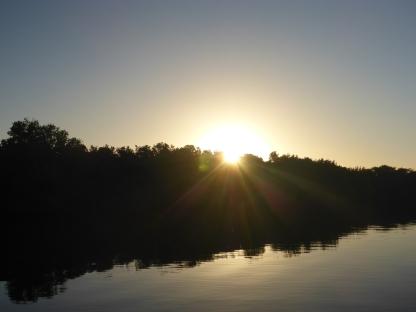 Sunrise over Little Pine Key