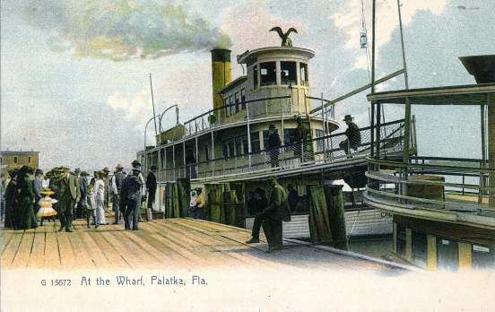 At the Wharf_Palatka Fla._.jpg