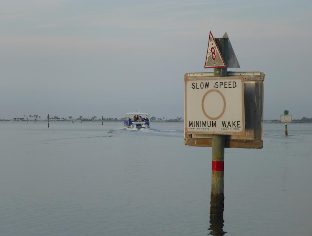 Caladesi Ferry on Still water
