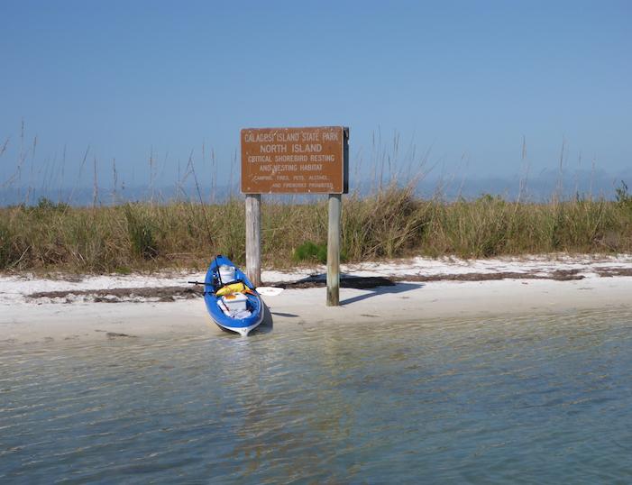 fishing gear on kayak