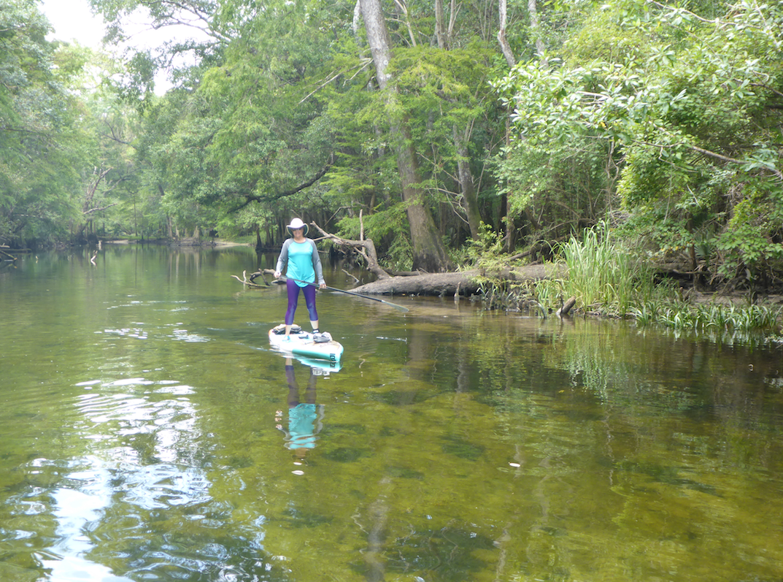 Katie on Holmes Creek