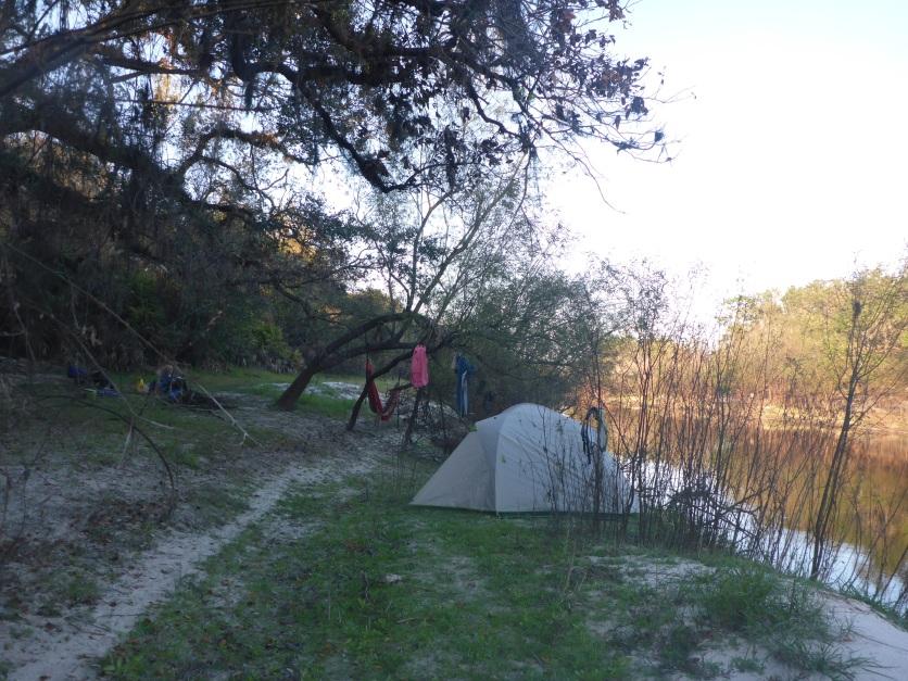 Campsite 2 just below Gardiner