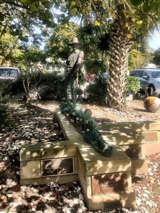 Waterman statue