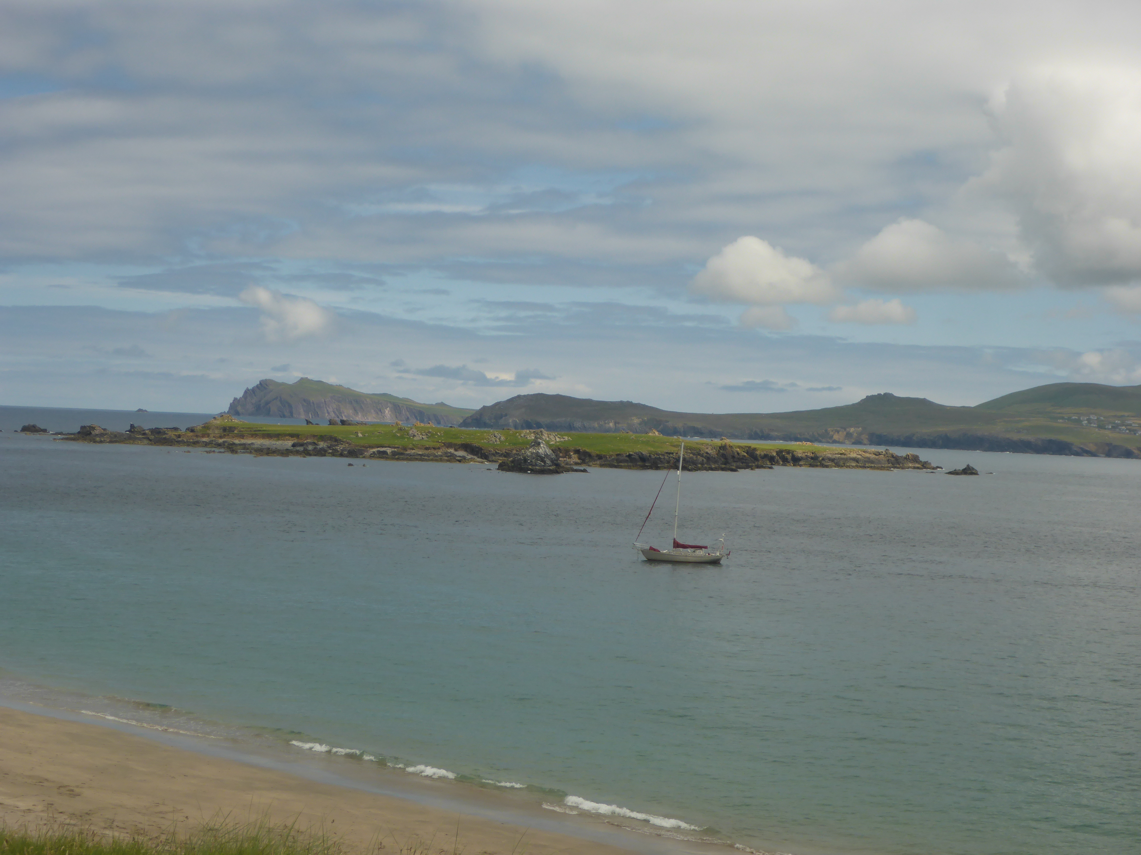 Looking towards Beginish Island from Great Blasket