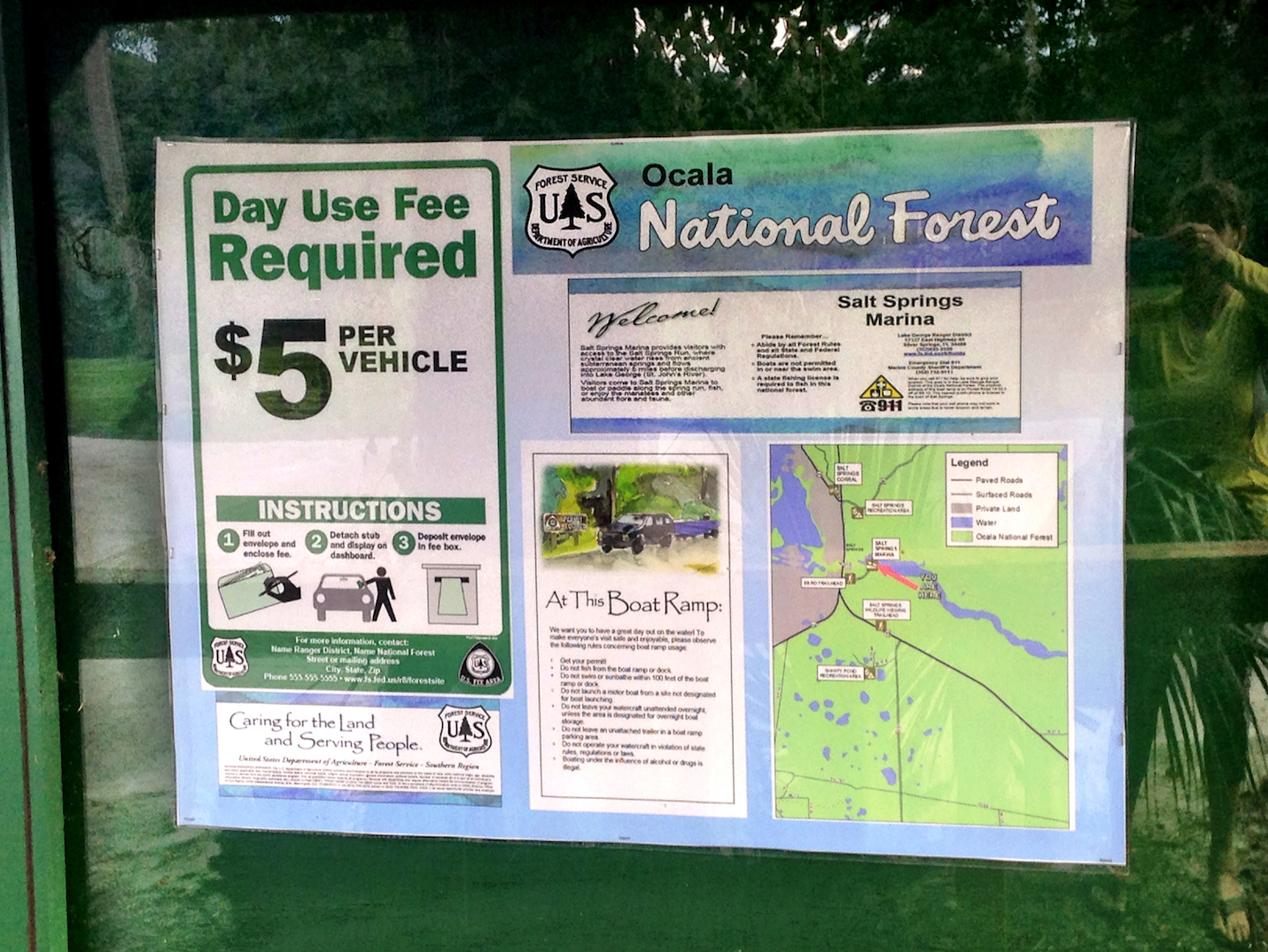 Ocala National Forest Sign