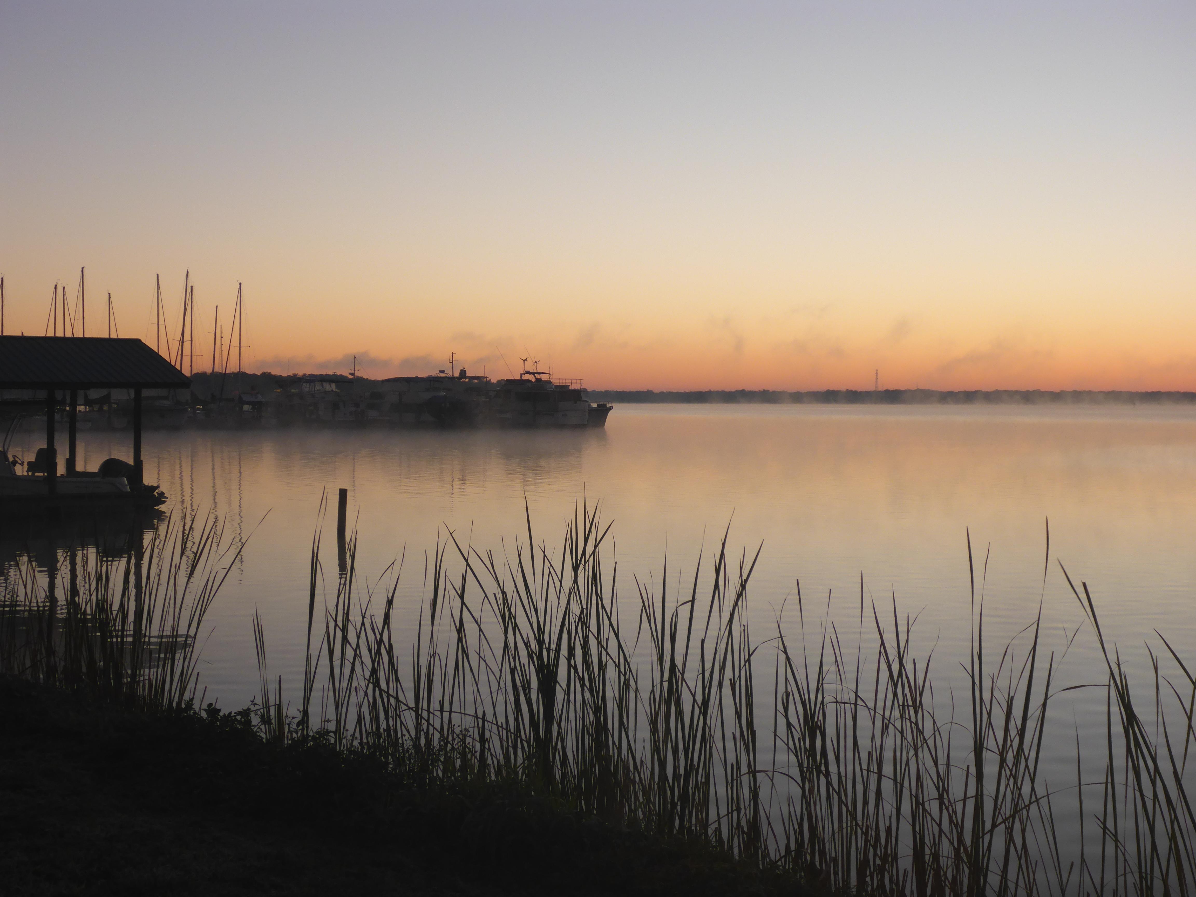 Sunrise over the St. Johns