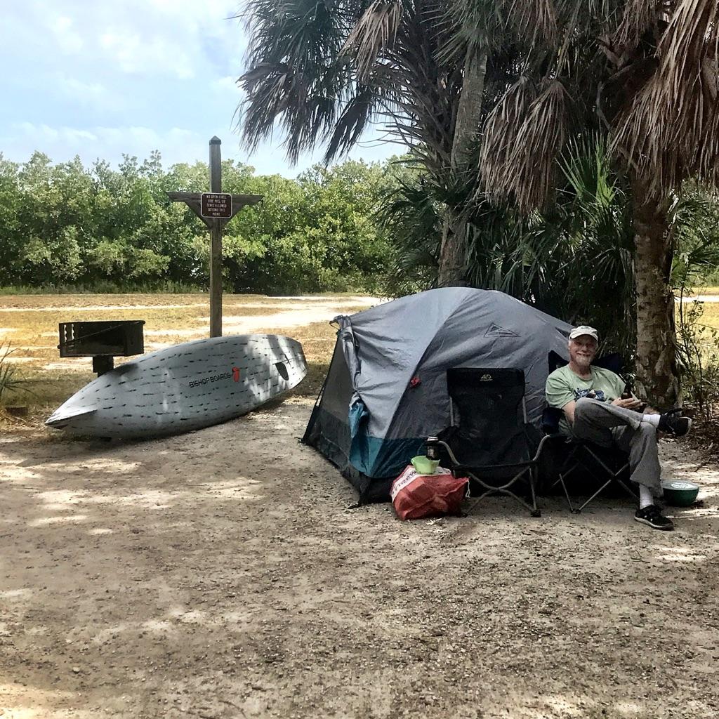 Fort de Soto camping